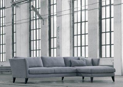 Canapé Sits Koriander set 1 tissus Nilo grey