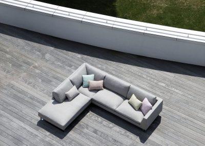 Angle Sits Tokyo set 14 tissus Himalaya Grey beige