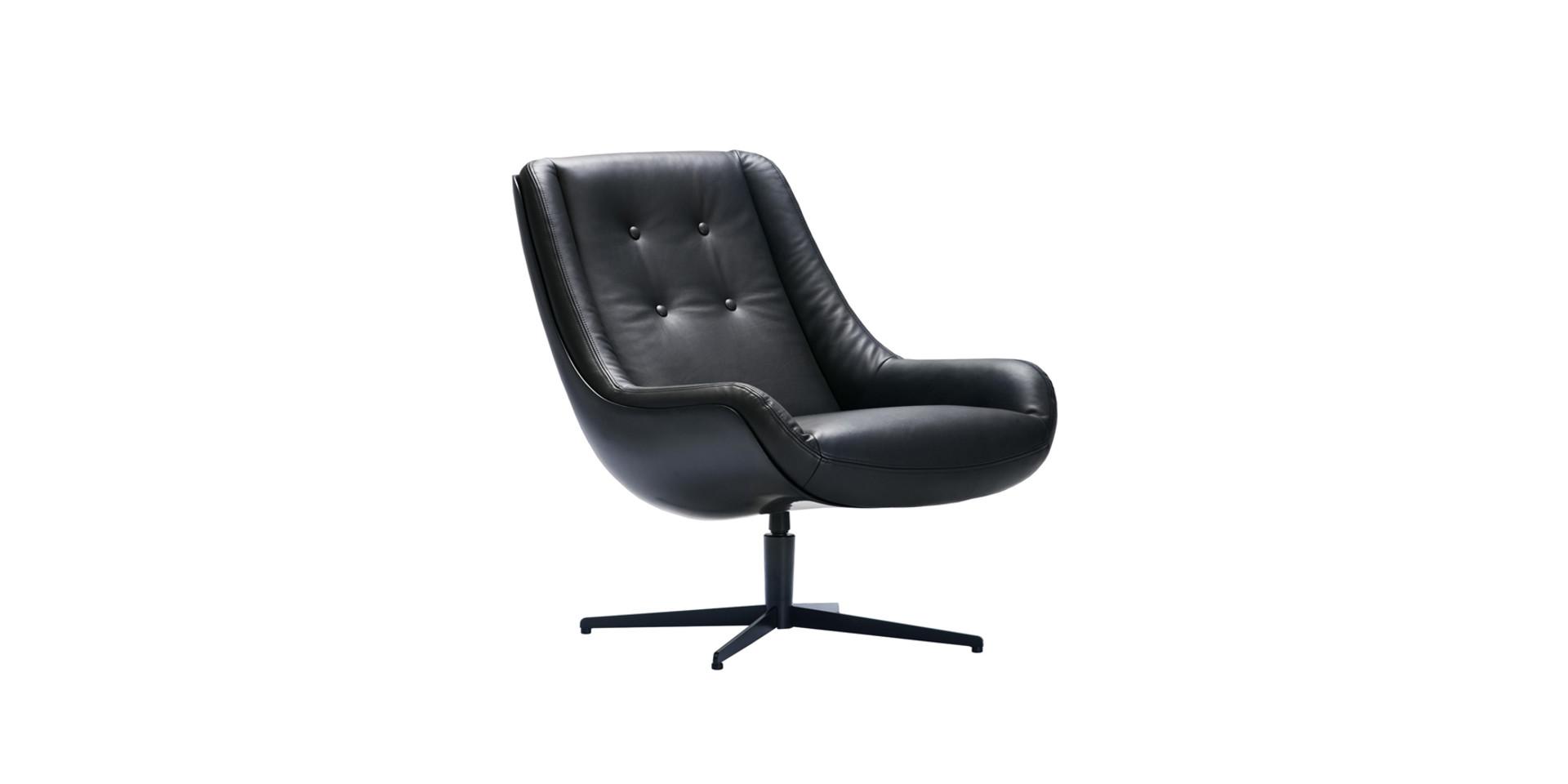 LOVEBIRD_armchair_swivel_black_buttons_aniline_black_2