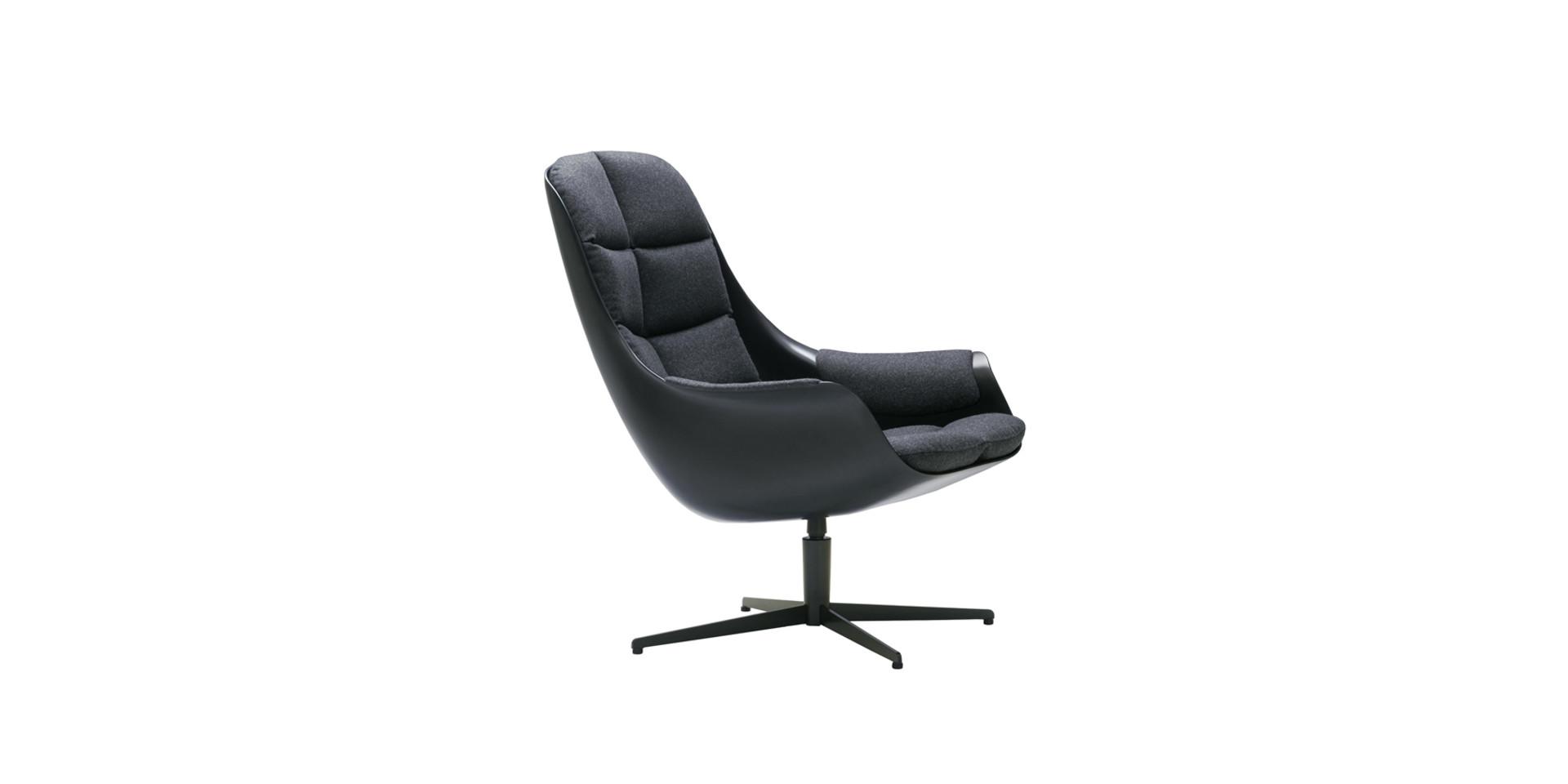 MYBIRD_armchair_swivel_white_panno_charcoal