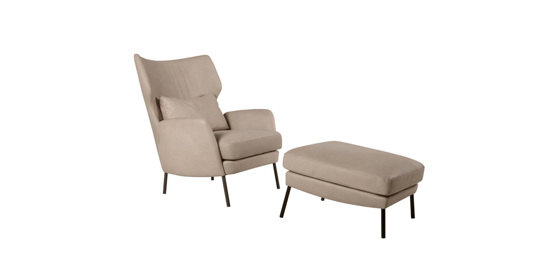 ALEX_armchair_footstool_aniline_sand_2