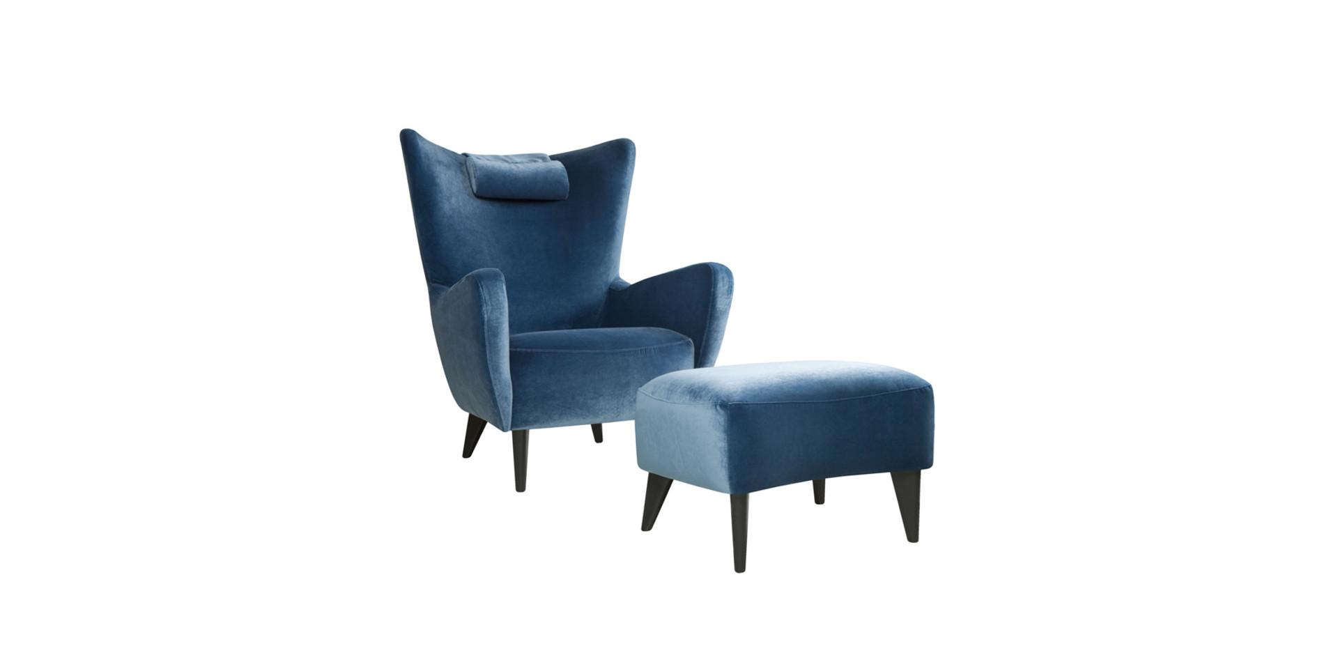 ELSA_armchair_footstool_headrest_classic_velvet12_navy_blue_3