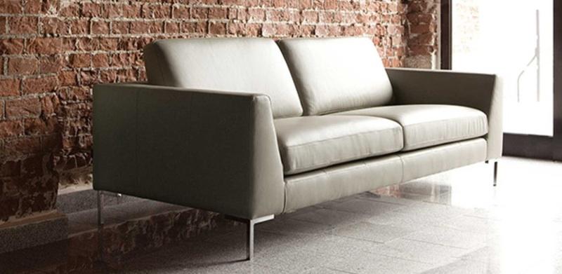 Canapé contemporain cuir Ohio de Sits